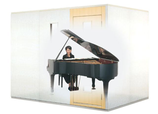 カワイの防音室 3畳サイズ